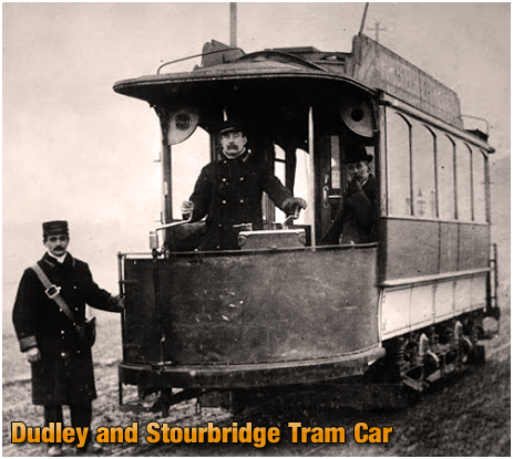 Tram Car of the Dudley, Stourbridge and District Electric Traction Co. Ltd. [Photo courtesy of the National Tramway Museum]