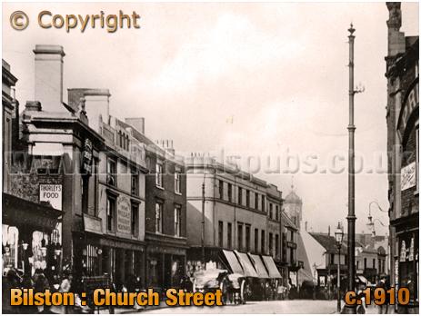 Bilston : Church Street [c.1910]