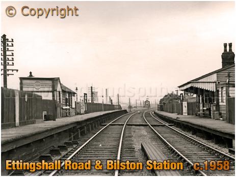 Bilston : Ettingshall Road & Bilston Railway Station [c.1958]