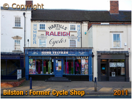 Bilston : Former Bicycle Shop [2011]