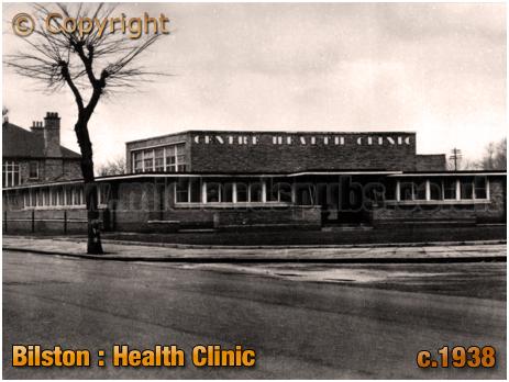Bilston : Health Clinic [c.1938]