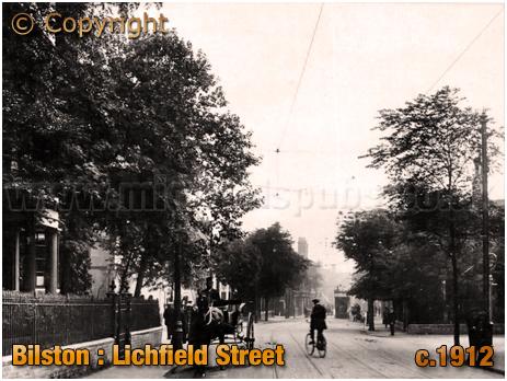 Bilston : Lichfield Street [c.1912]