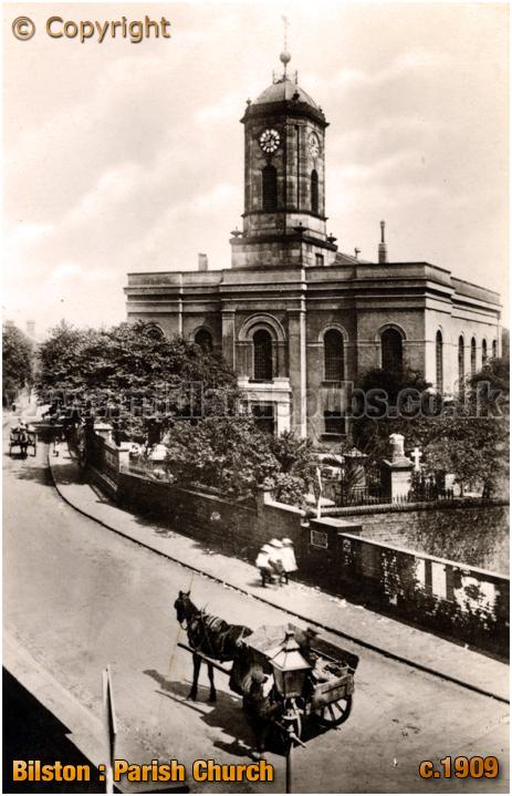Bilston : Parish Church [c.1909]