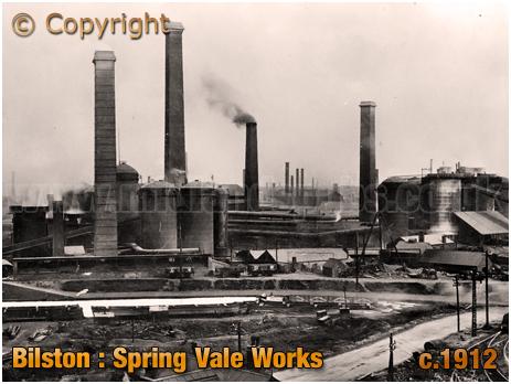 Bilston : Spring Vale Works [c.1912]