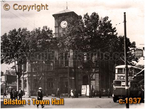 Bilston : Town Hall [c.1937]