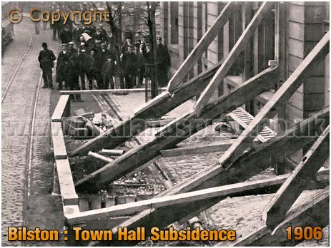 Bilston : Town Hall Subsidence [1906]
