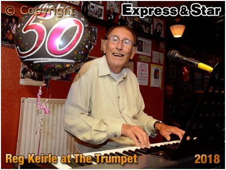 Bilston : Reg Keirle celebrates 50 years of entertaining at The Trumpet [Photo ©2018 Express & Star]