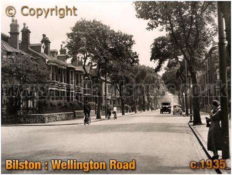 Bilston : Wellington Road [c.1935]