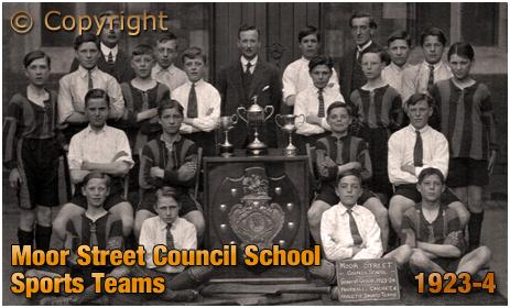 Brierley Hill : Moor Street Council School Sports Teams [1923-4]