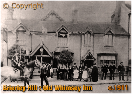 Brierley Hill : Old Whimsey Inn [c.1911]