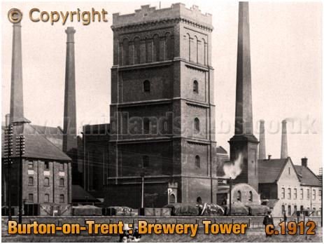 Burton-on-Trent : Brewery Tower [c.1912]