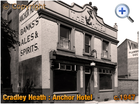 Cradley Heath : Anchor Hotel [c.1947]