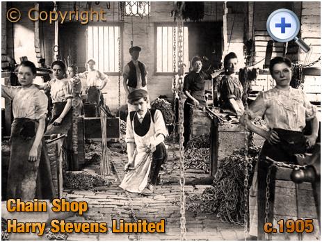 Cradley Heath : Small Chain Shop of Harry Stevens Limited in Oak Street [c.1908]