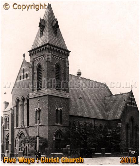 Cradley Heath : Christ Church at Five Ways [c.1908]