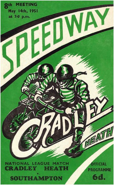 Cradley Heath : Speedway Programme [1951]
