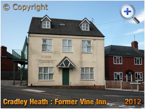 Cradley Heath : Former Vine Inn [2012]