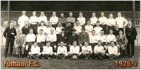 Reg Johnson in his footballing days [1927]