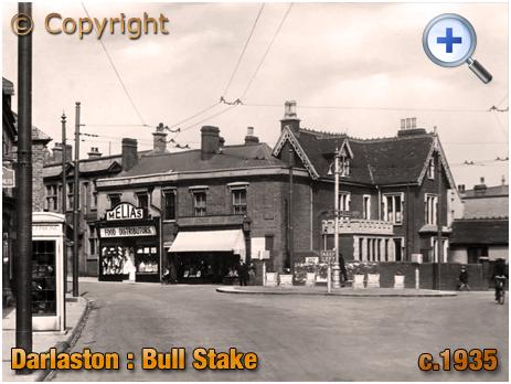 Darlaston : The Bull Stake [c.1935]