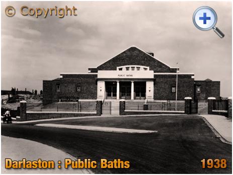Darlaston : Public Baths at The Flatts [1938]