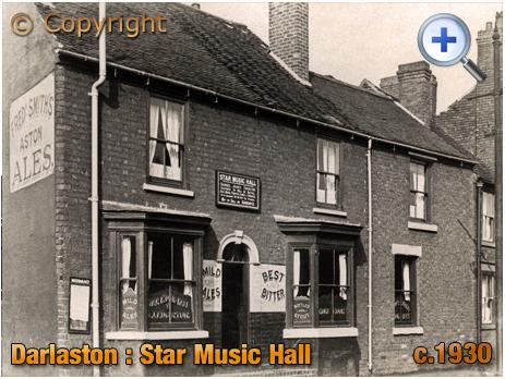 Darlaston : Star Music Hall on Walsall Road near James Bridge [c.1930]