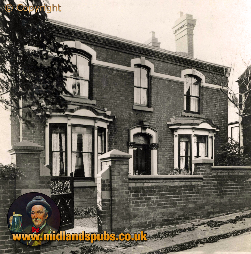 Amblecote : Chestnut House in Villa Street [1934]