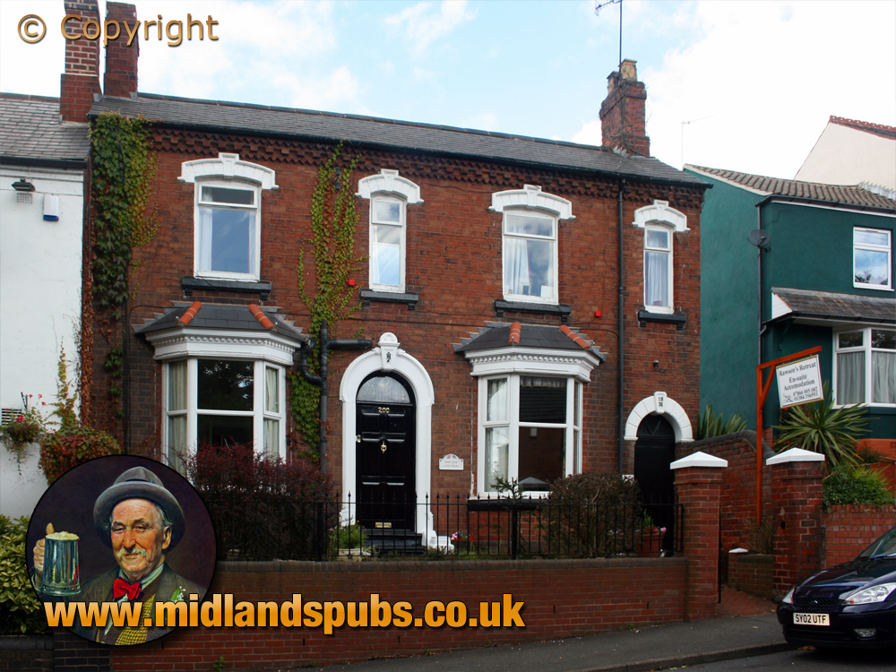 Amblecote : Glassworks Manager's House in Collis Street [2007]