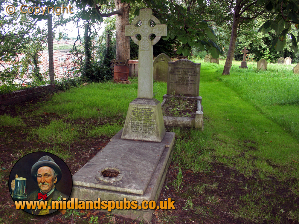 Amblecote : Grave of William and Mary Fritsche at Holy Trinity Church