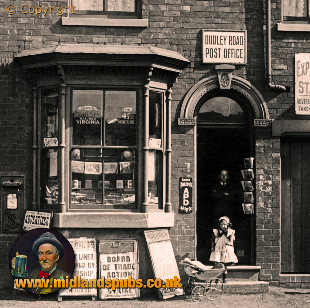 Brierley Hill : Dudley Road Post Office at Hart's Hill [1911]
