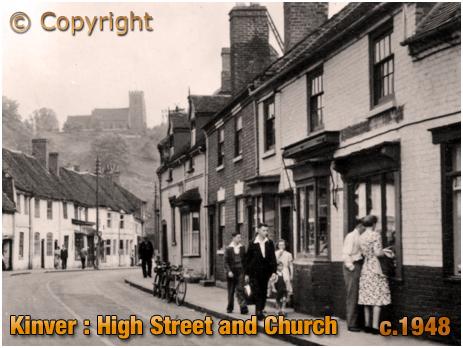Kinver : High Street and Church [c.1948]