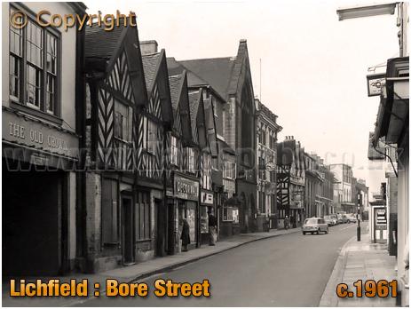 Lichfield : Bore Street [c.1961[