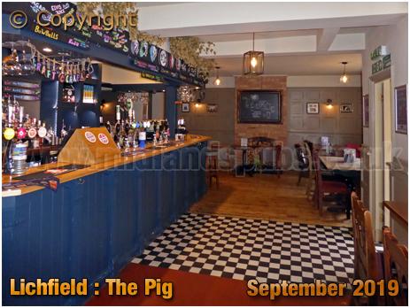 Lichfield : Bar of The Pig [September 2019]