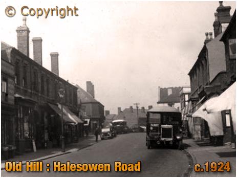 Old Hill : Halesowen Road [c.1924]