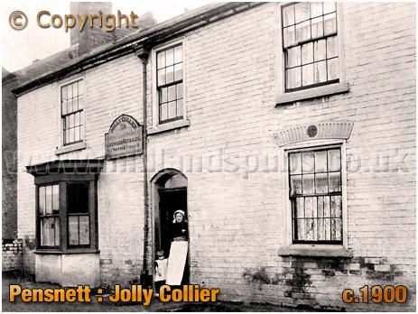 Pensnett : Jolly Collier at Bromley [c.1900]
