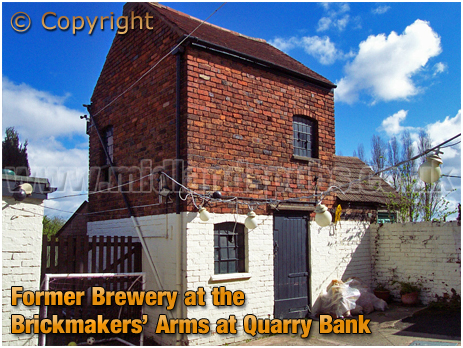 Former Brewery at the Brickmakers' Arms at Quarry Bank