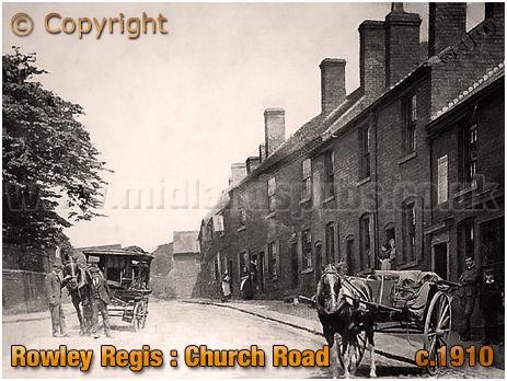 Rowley Regis : Church Road [c.1910]