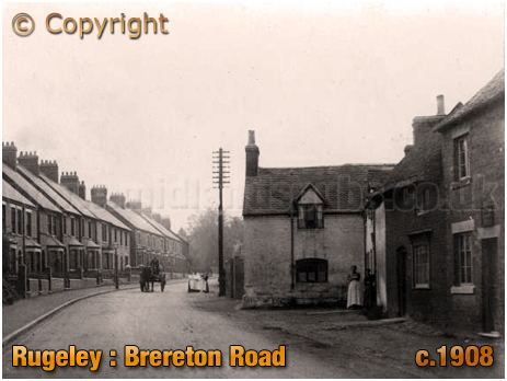 Rugeley : Brereton Road [c.1908]
