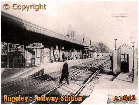 Rugeley : Railway Station [c.1912]