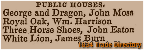 Rushall : Extract from White's History, Gazetteer and Directory [1834]