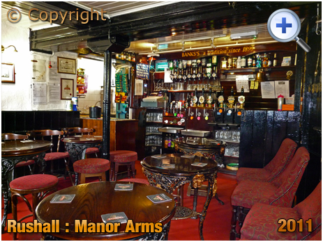 Rushall : Servery of The Manor Arms at Daw End [2011]