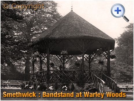 Smethwick : The Bandstand at Warley Woods [c.1910]