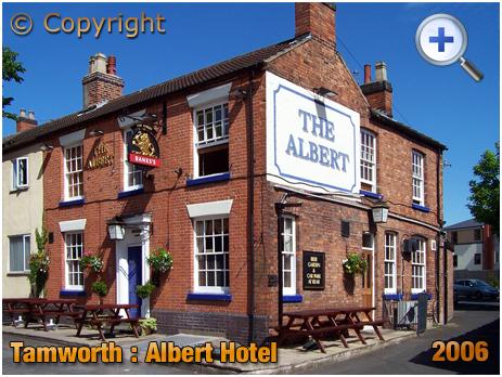 Tamworth : The Albert Hotel on Albert Road [2006]