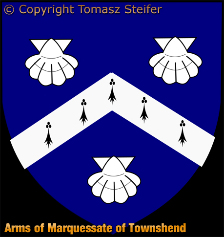 Arms of Marquessate of Townshend by Tomasz Steifer
