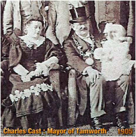 Tamworth : Mayor Charles Cast [1905]