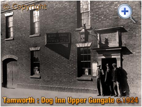Tamworth : Dog Inn on Upper Gungate [c.1924]