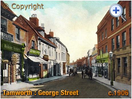 Tamworth : George Street [c.1906]