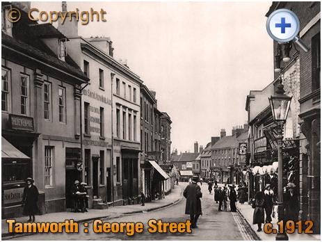 Tamworth : The New Empire Vaults on George Street [c.1912]