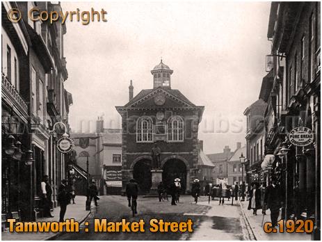 Tamworth : Market Street [c.1920]