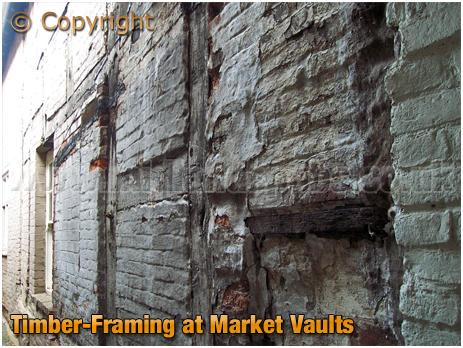Tamworth : Timber-Framing at Market Vaults [2006]