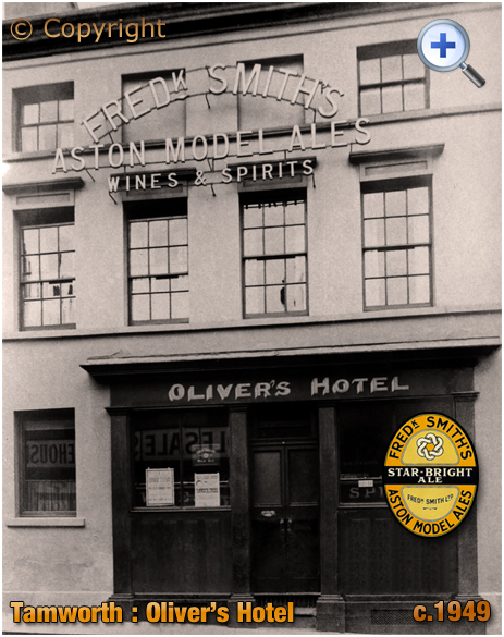 Tamworth : Oliver's Hotel [c.1949]