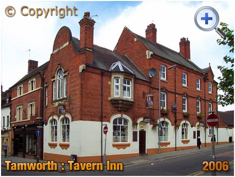 Tamworth : The Tavern Inn on the corner of Church Street and Corporation Street [2006]